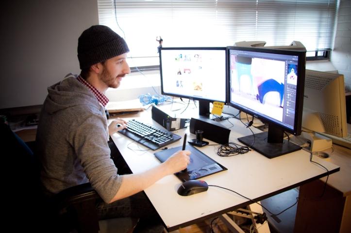 Ian at RAID Studio