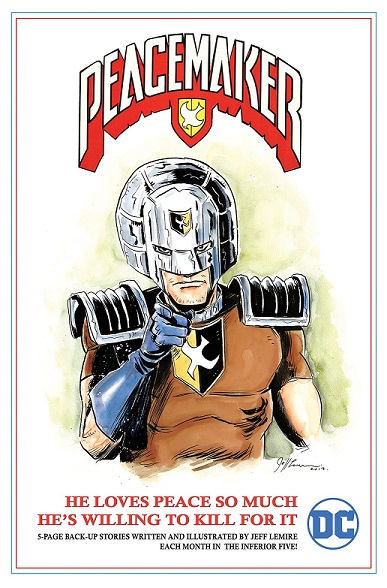 jeff lemire peacemaker