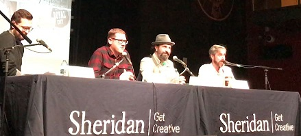 Sheridan College heroes panel part 2