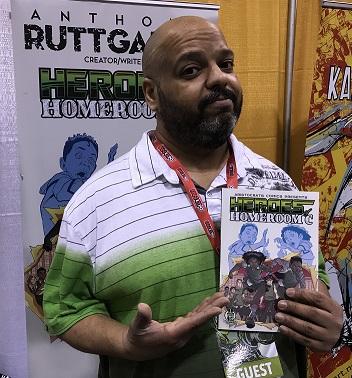 Anthony Ruttgaizer Toronto Comicon 2018