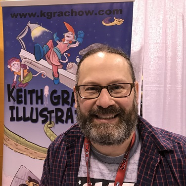Keith Grachow Toronto Comicon 2018