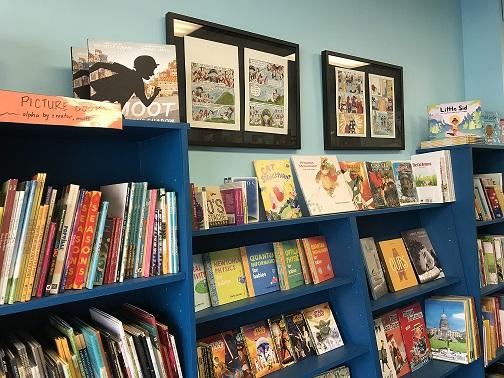 little island comics store