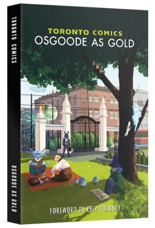 Interview with Andrew Stevenson about 'Toronto Comics: Osgoode as Gold'