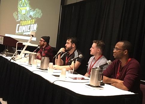 Chapterhouse Panel Toronto Comicon 2018