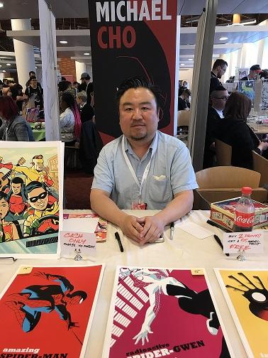 Michael Cho TCAF 2018