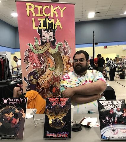 Ricky Lima Brampton Comic Con 2018