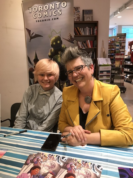 Interview with Mireille Messier at Toronto Comics 'Osgoode As Gold' Launch Party